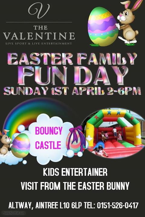 The valentines easter family fun day liverpool the valentines easter family fun day negle Images