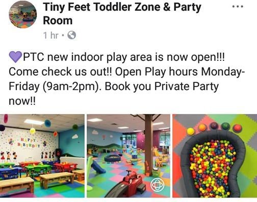 SG Fitness Tiny Feet Meet And Play at Tiny Feet Toddler Zone