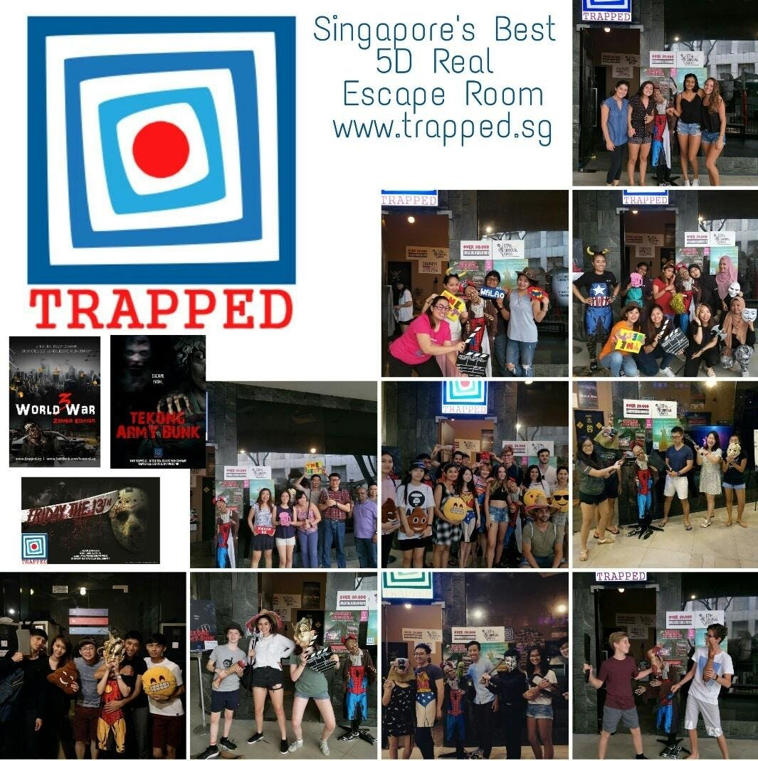 25th August Events In Singapore Garden By The Bay Dewasa Tiket Escape Room Tickets