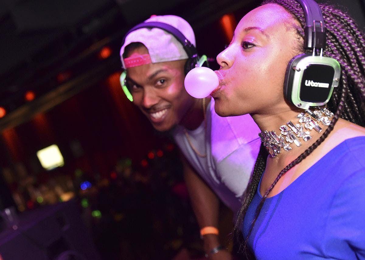 Urban Ftes presents SILENT TRAP vs R&B PARTY DC