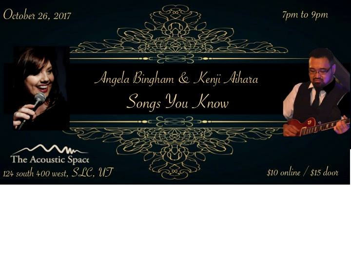 Angela Bingham Kenji Aihara Songs You Know At The Acoustic