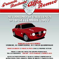 Grande Raduno Alfa Romeo - Vallelunga 910 Settembre 2017