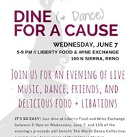 Dine ( Dance) for a Cause