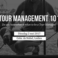 Tour Management 101 - Masterclass