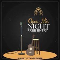 Royale open mic night