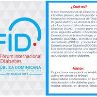 FID 2do Frum Internacional de Diabetes