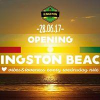 Kingston BEACH Opening - 28.06.17 - il baretto (lido belvedere)