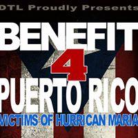 DTL Presents Benefit 4 Puerto Rico