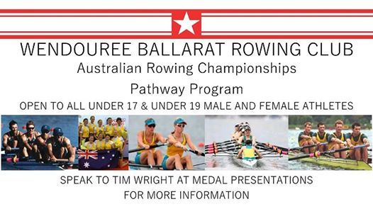 Australian Rowing Championships - youth pathway program