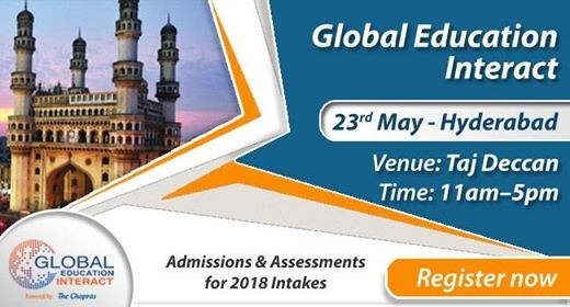 Welcome To Global Education Fair 2018 Hyderabad By The Chopras
