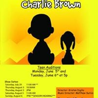 CM Teens Auditions for Youre a Good Man Charlie Brown