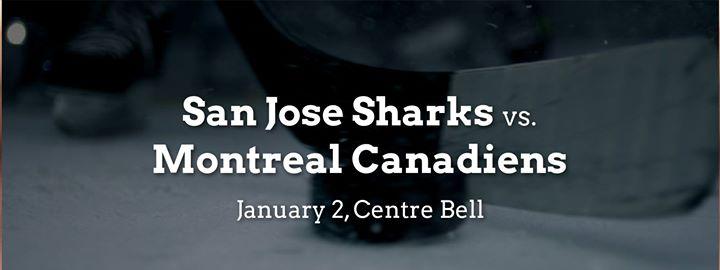 San Jose Sharks vs. Montreal Canadiens