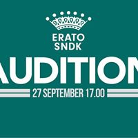 Audition till Erato SNDK