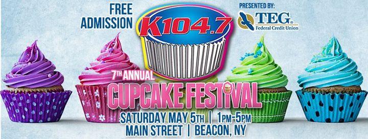 K104s 7th Annual Cupcake Festival At Main Street Beacon Ny