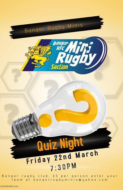 Bangor Minis Quiz Night
