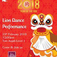 Lion Dance Performance