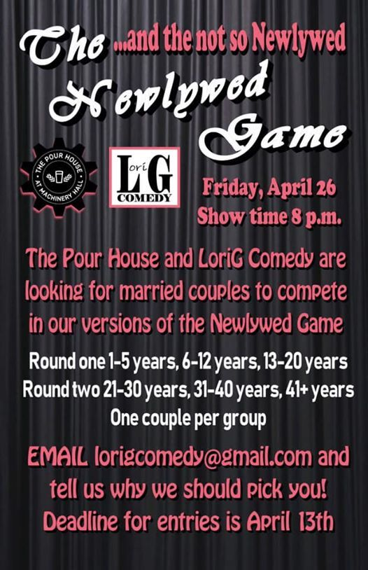 The Newlywed and not so Newlywed Game at The Pour House at