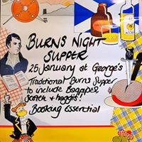 Burns Night Supper at Georges