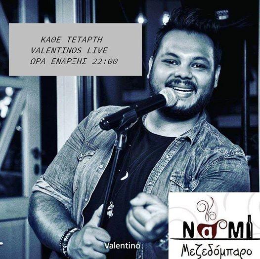 Valentinos Live NAMI Mezedobaro
