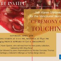 Launch Karen Shklankas Ceremony of Touching (Poems)