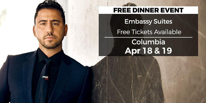 (FREE) Real Estate Millionaire event in Columbia by Josh Altman