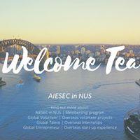 AIESEC in NUS Welcome Tea2