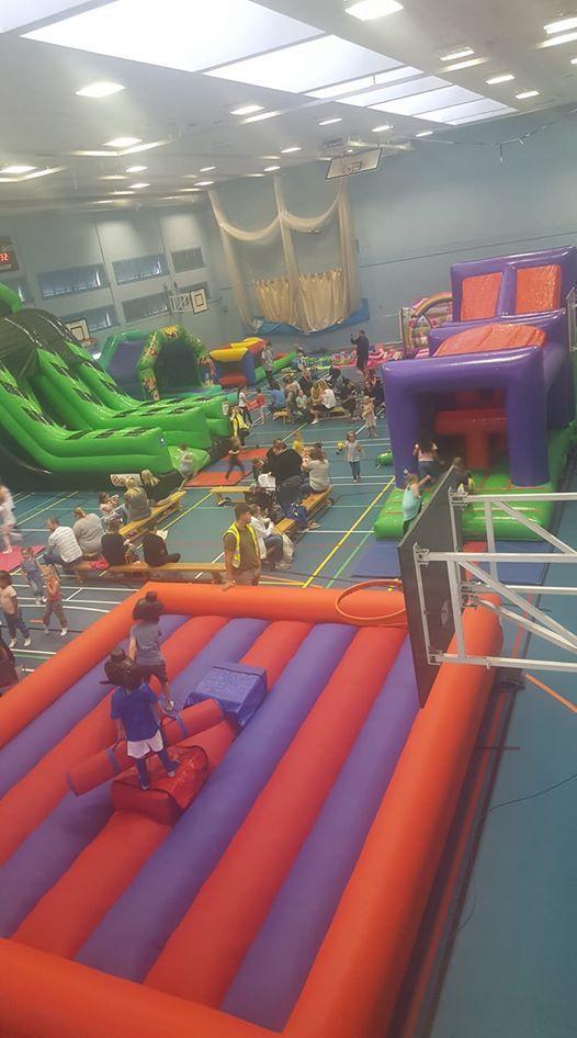 February Half Term Inflatable Fun