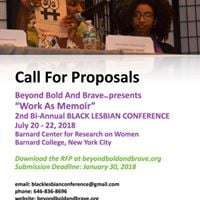 Beyond Bold And Brave presents Black Lesbian Conference 2018