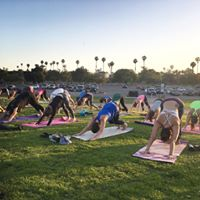 Sunset Hip Hop Yoga