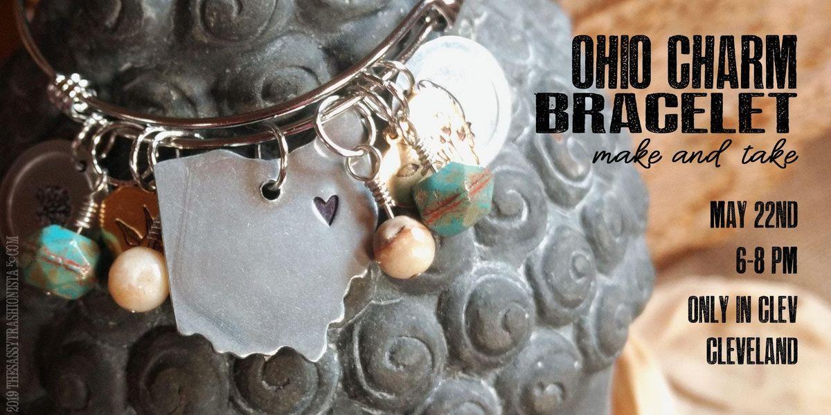 Ohio Charm Bracelet Make and Take 6-8pm