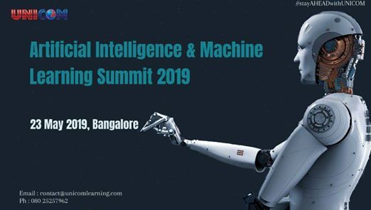 Artificial Intelligence and Machine Learning Summit 2019
