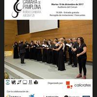 Concierto Accesible de La Coral de Cmara de Pamplona 2017