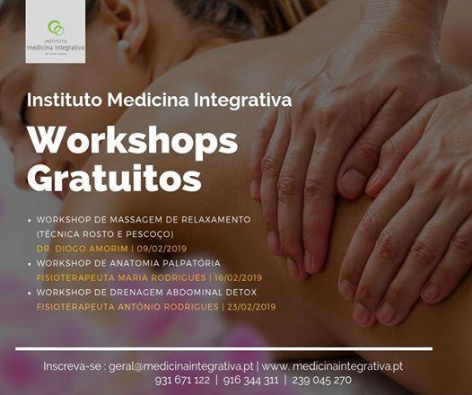 Workshops Gratuitos