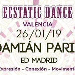 Ecstatic Dance con Damin Paris