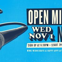 November - Open Mic