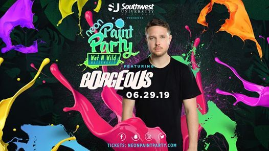 The Neon Paint Party - 2019