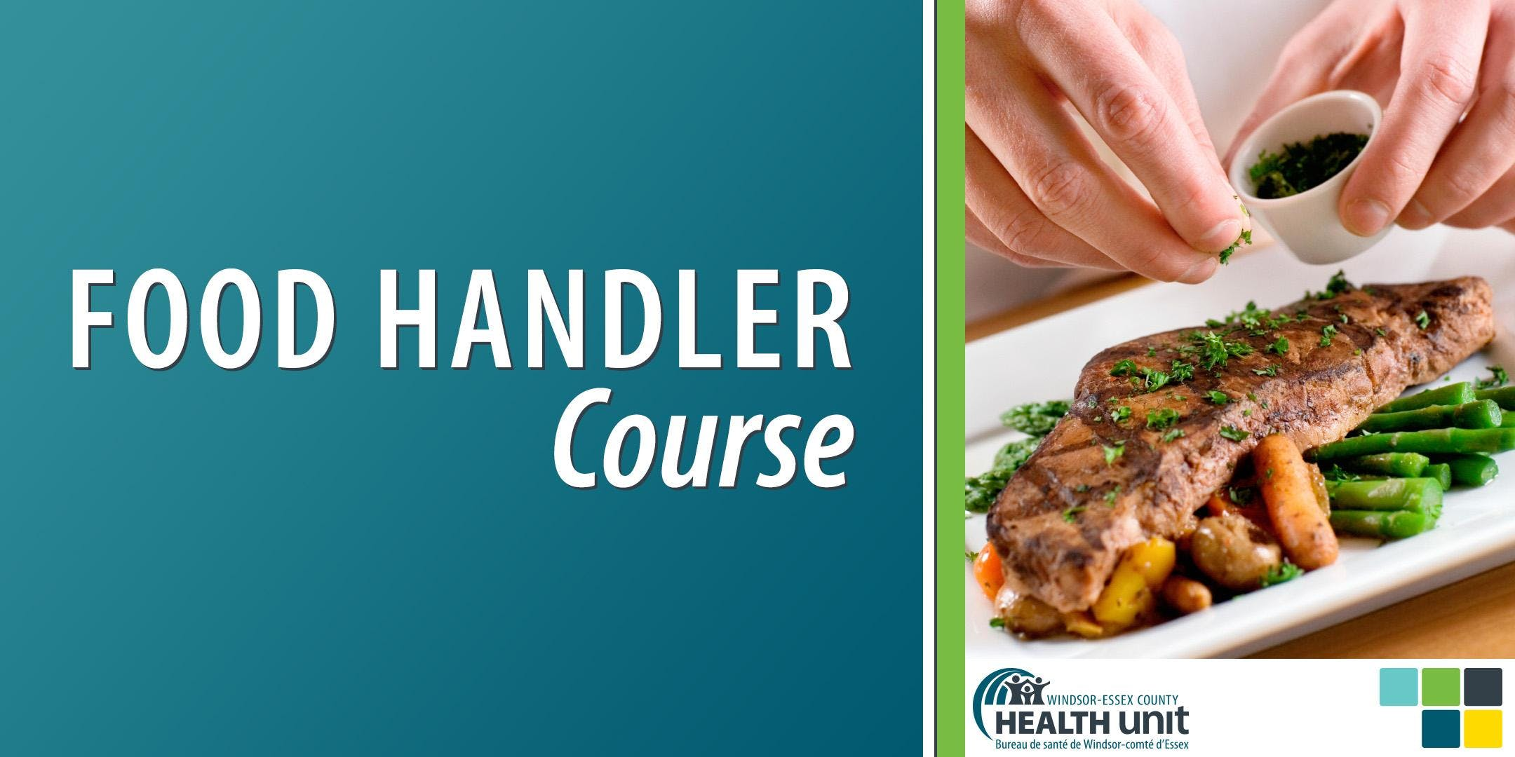 Evening In-Class Food Handler Course (Windsor, 2 day) at Windsor ...