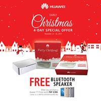 Huawei Early Christmas SALE