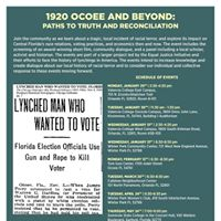 1920 Ocoee Massacre and Beyond Paths To Truth and Reconciliatio