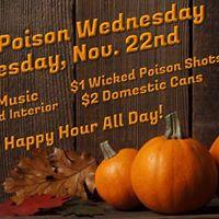 Wicked Poison Wednesday