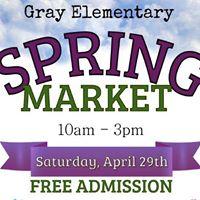 Gray Elementary Spring Market