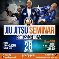 Professor Jucao BJJ GI &amp NO-GI Seminar