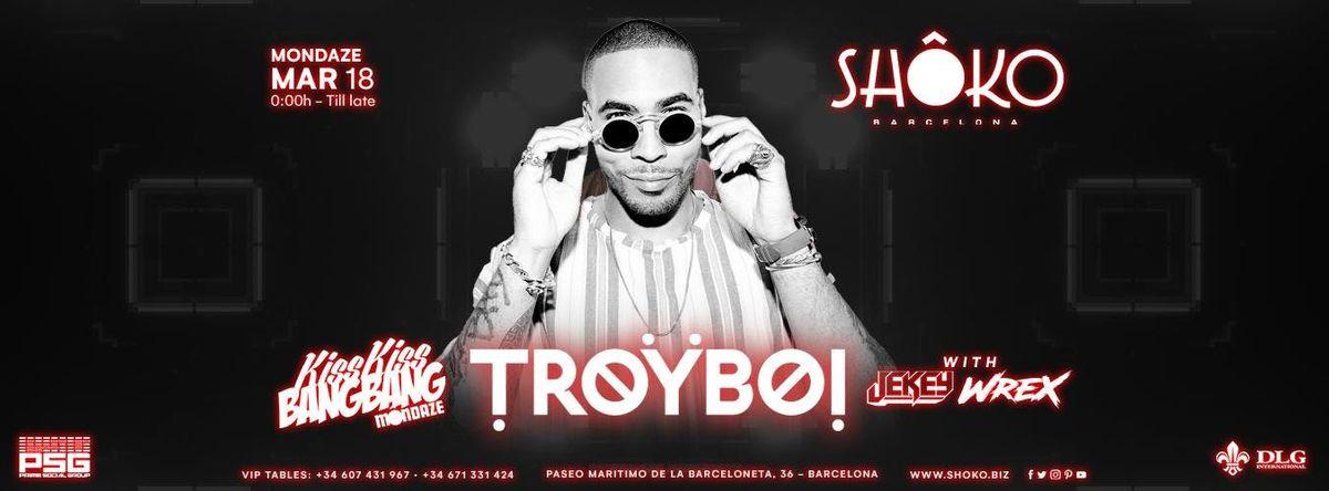TROYBOI Concert at Shoko Barcelona  March 18th