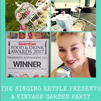 Vintage charity garden party
