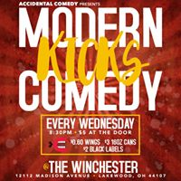 Accidental Comedy  Modern Kicks at the Winchester