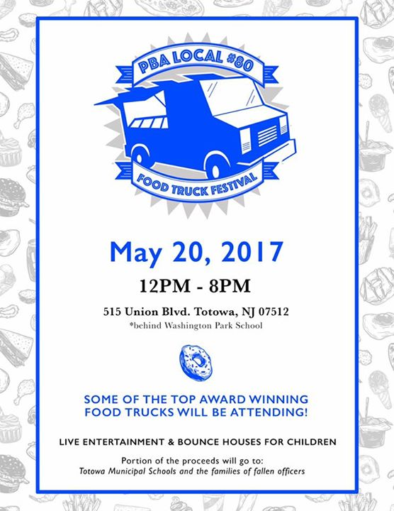 2nd ANNUAL TOTOWA PBA  FOOD TRUCK FEST