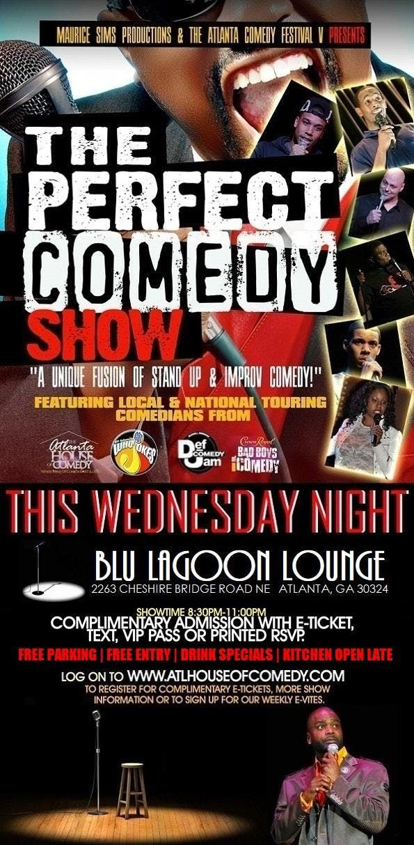 The Perfect Comedy Show in Buckhead