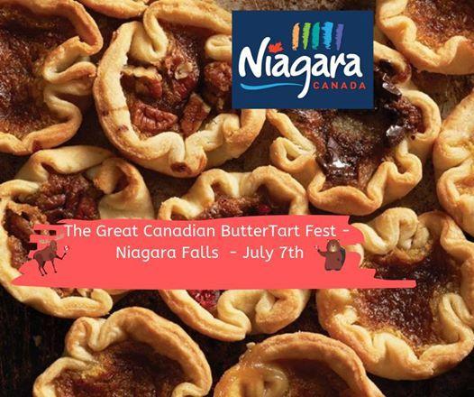 Great Canadian ButterTart Fest - Niagara Falls Canada
