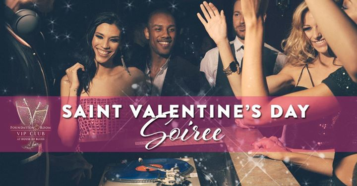Saint Valentines Day Soiree