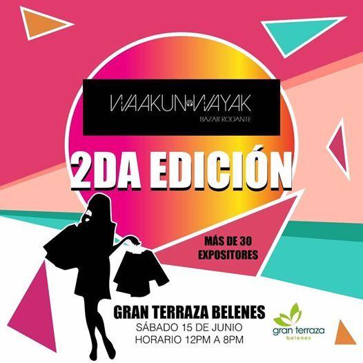 2 Edición Bazar Rodante Gran Terraza Belenes Zapopan